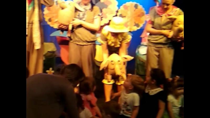 После представления в кукольном театре