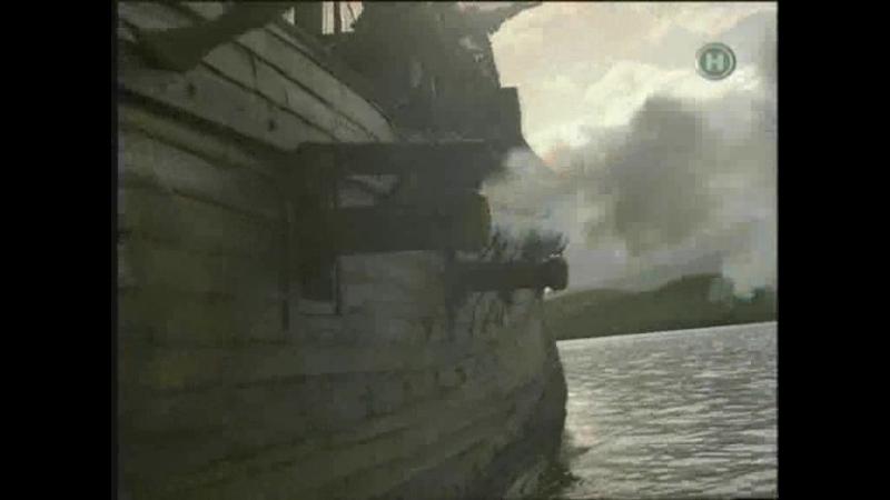 Пираты против Испании. Кадры из к/ф Хвост Дьявола. Италия. 1999 г.