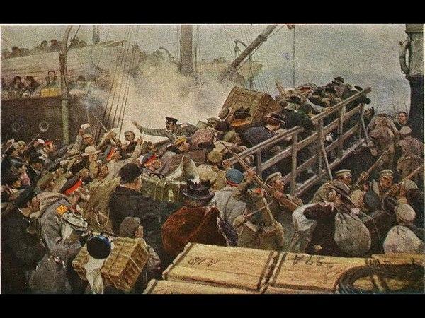 Великий русский исход Белые эмигранты