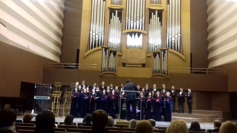 Концерт в органном зале, посвященный юбилею Анатолия Гайденко. 17.02. 2018