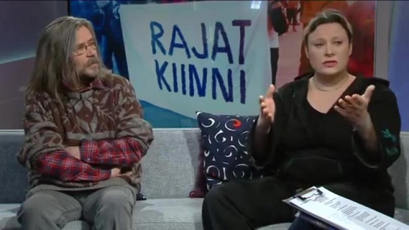 Rajat Kiinni! kansanliike / YLE 2016 01 25 (Aamu TV)