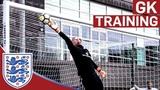 High Intensity Drills for England's Senior Goalkeepers Goalkeeper Training