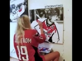 "NoVa Caps on Instagram_ ""Time-lapse painting of Nicklas Backstrom by @tkopaintin"