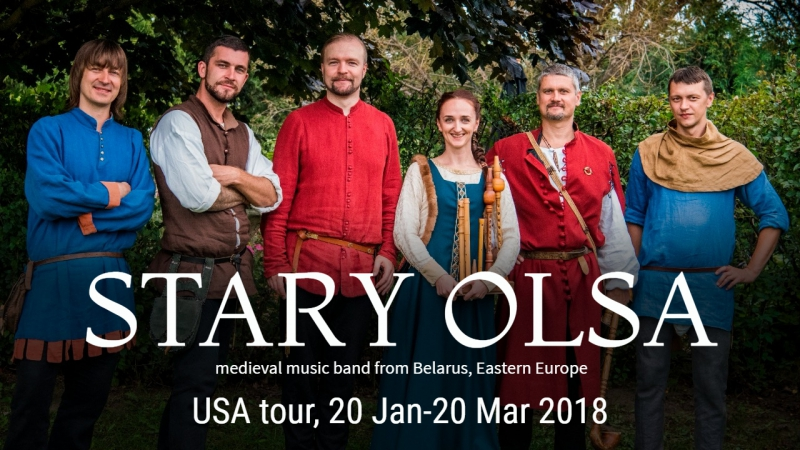 Стары Ольса - USA tour 2018!