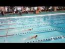 Первенство BDC по плаванию. Вольный стиль 25м