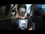 Серб выстриг Путина на голове