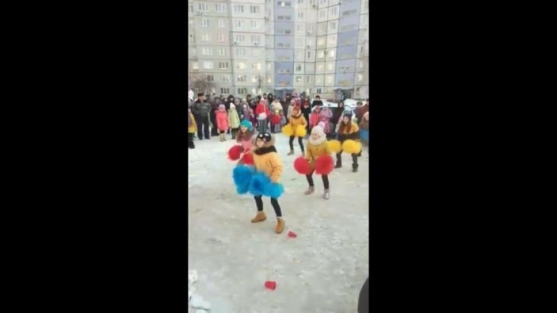Масленица по ул. Калмыцкая д.42