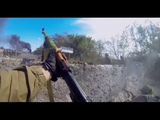 Ukraine War - Ukrainian Paramilitary In Heavy Combat Action In The Battle For Ilovaisk