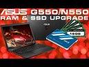 ASUS G550JK N550JK Замена HDD на SSD и расширение ОЗУ