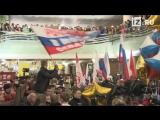 В Россию возвращаются российские олимпийцы