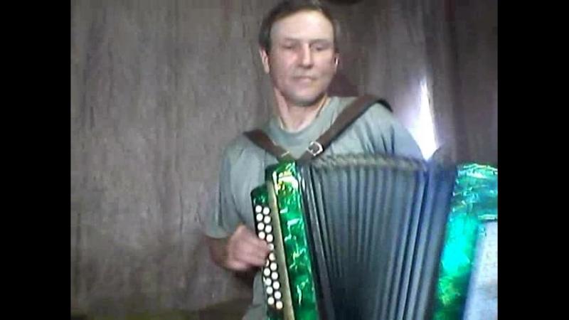 Владимир Тарабычин наигрывает на тему народной песни ВДОЛЬ ДА ПО РЕЧКЕ