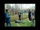 В Зеленограде свиноматка избила школьника Уличные Драки RU