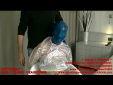Liltha Chairtied Extreme Blue Latex Breathplay - PREVIEW
