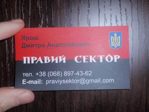 """""""Правый сектор"""" в боях на Донбассе"""