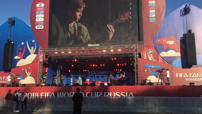 Хроники Края Родник 16 06 18 Фестиваль болельщиков FIFA Fan Fest 2018 Волгоград