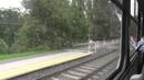 Jízda tramvají Tatra T3R P ev č 8234 Praha 13 8 2014