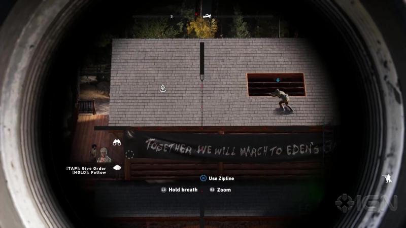 Far Cry 5: Скрытно, со снайперки, либо расхерачить засранцев в наглую