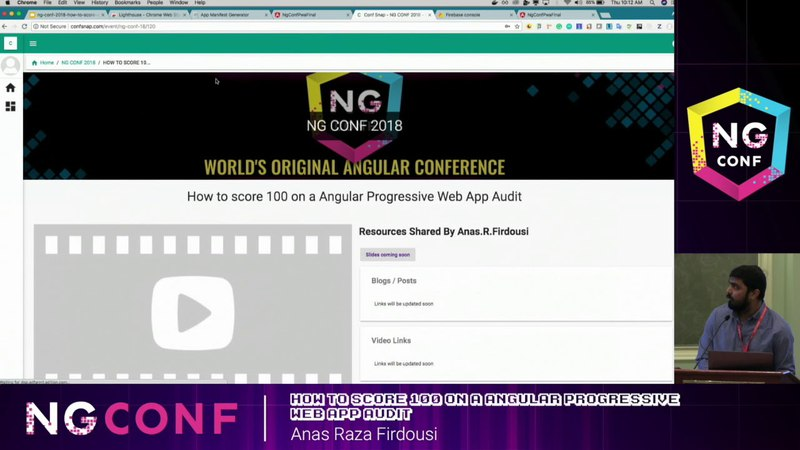 How to score 100 on a Angular Progressive Web App Audit - Anas R Firdousi