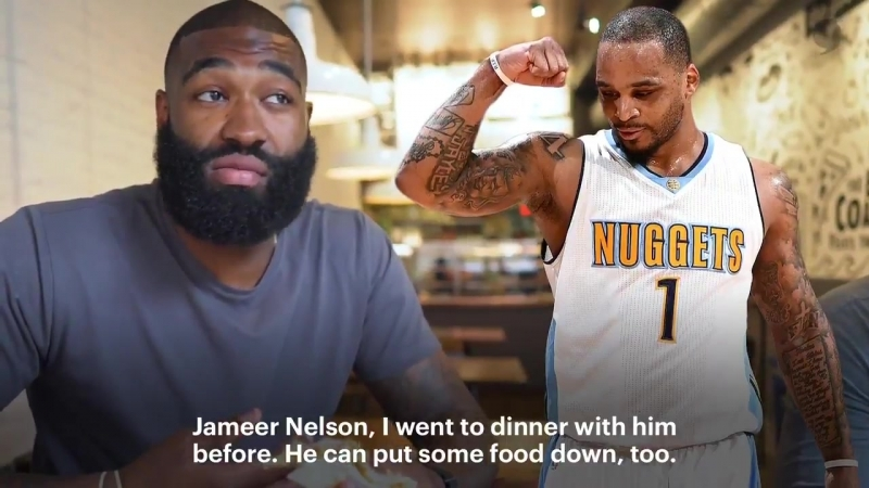 @Kyle OQuinn switched up his diet before last season but that didnt stop him from doubling down on his cheat day