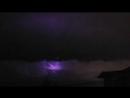 Впечатляет .. 11 февраля...странные огни бороздят небо Филиппин и окрашивают облака в фиолетовый цвет...