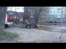 В Перми машина провалилась под землю.