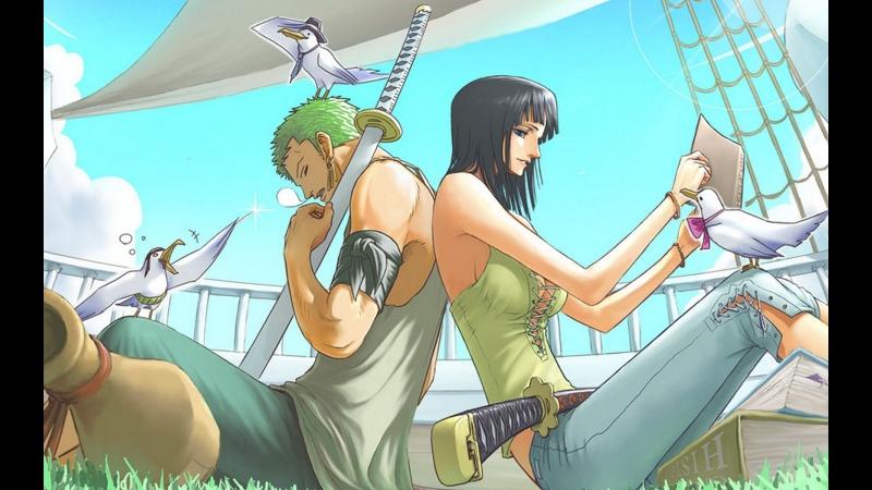 Zoro-x-Robin-_-I-like-that-(-AMV-)