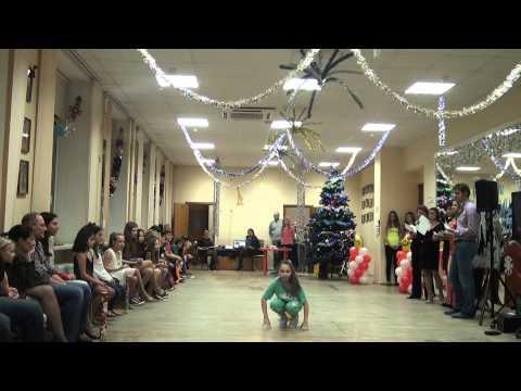 Street dance in the performance of Diana Matviichuk