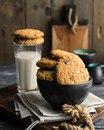 Самое настоящее американское овсяное печенье с орехами и шоколадом
