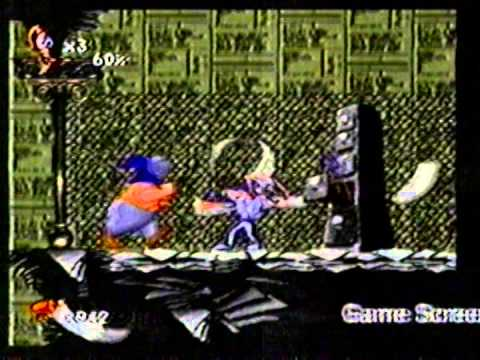 Earthworm Jim toys Video Game commercial (USA, 1995)