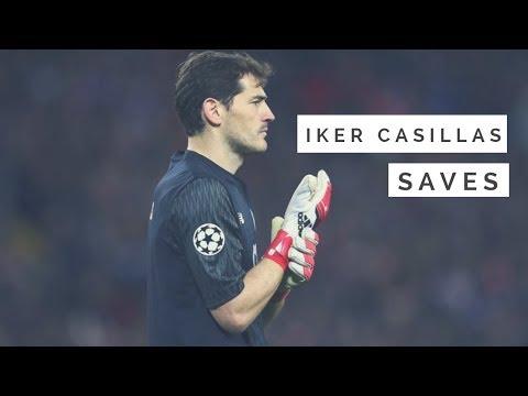 IKER CASILLAS ULTIMATE SAVES SHOW 2017 18 FC PORTO