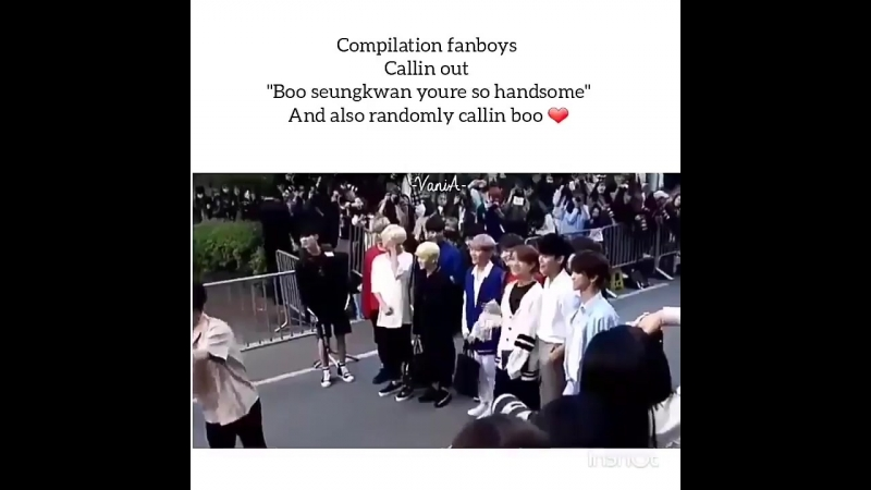 BOO SEUNGKWAN THE FANBOY COLLECTOR 💕