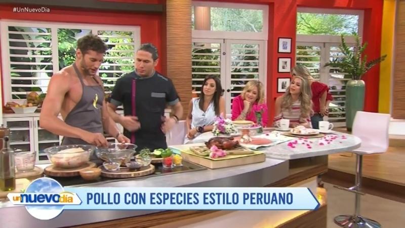 Recetas de cocina Pollo con especias estilo peruano Un Nuevo Día Telemundo