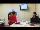 Группа 7-8 лет, первый урок 2 ступени) Безносикова Дарья и Петрыкина Вероника