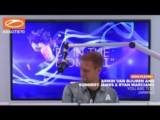 Armin van Buuren vs. Sunnery James Ryan Marciano - You Are Too