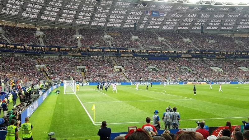 Final of FWC 2018 France - Croatia