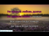 Ростова Полина Падала Звезда Караоке версия Full HD