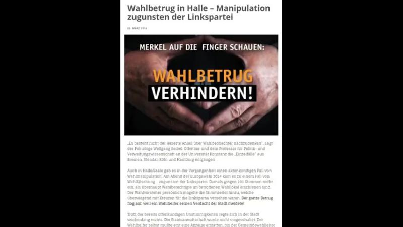 VIDEOBEWEIS! BUNDESTAG WAHLFÄLSCHUNG MIT RADIERGUMMI! Ist Merkel gar nicht mehr Kanzlerin