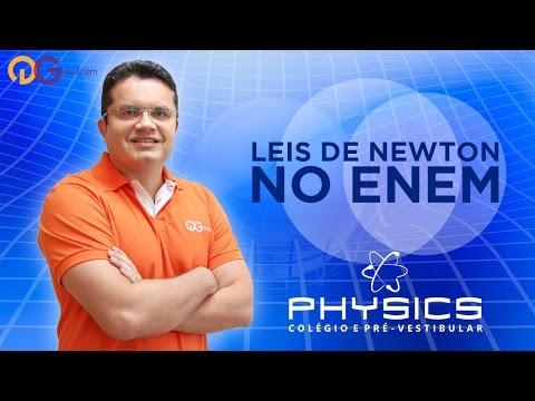 Leis de Newton no ENEM - Física com Fabrício Alves