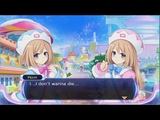 Hyperdimension neptunia rebirth 2 conquest ending chapter 4 the death of blanc, rom and ram