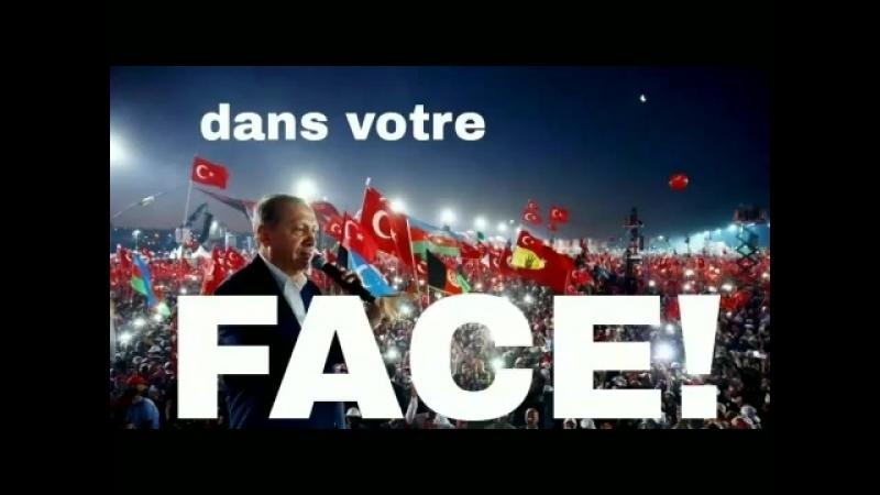 Un jeune et brillant étudiant comme de nombreux franco-turcs a voté pour Erdogan et l'AKP a tenu à vous laisser un message