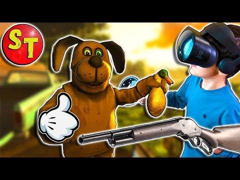 КРУТАЯ ОХОТА НА УТОК VR games. Duck Season