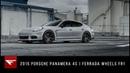 2015 Porsche Panamera 4S Battle Ready Panamera Ferrada Wheels FR1