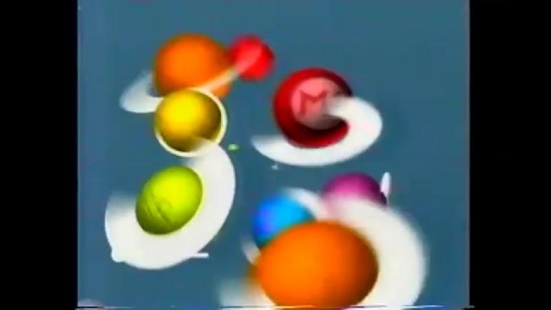 (staroetv.su) Окончание программы Наши в городе, реклама и заставка (М1, 30.10.2003)