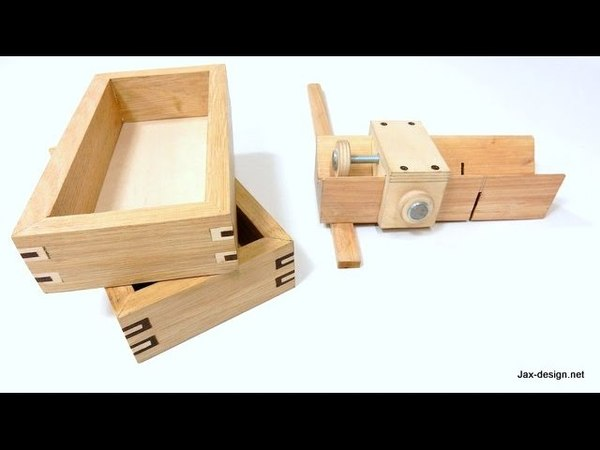 Easy to Make Jig and How to Build Boxes with Decorative Splines