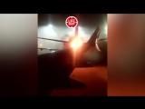 Паника и пылающие огнём самолёты в Торонто. Видео пассажира из салона