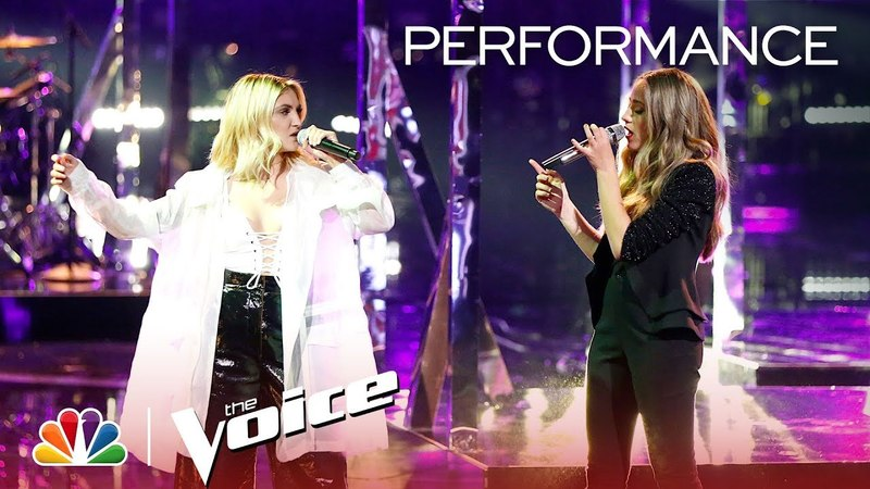 The Voice 2018 Brynn Cartelli and Julia Michaels - Finale: