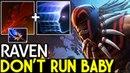 Raven [Bloodseeker] Remember Don't Run 7.15 Dota 2