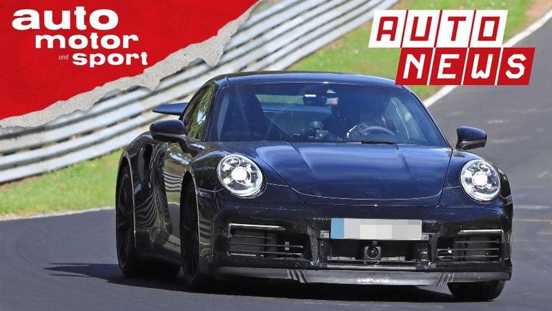 Porsche 911 Turbo Erlkönig (2018) Des Königs neue Kleider - NEWS | auto motor und sport