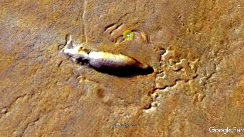 [Тайны Мира] Древний космический корабль на Марсе