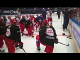 Сборная России по хоккею готовится к Кубку Первого канала